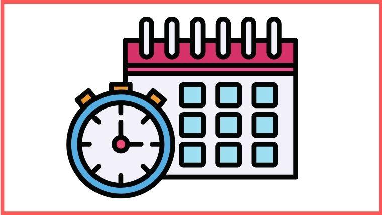 会社のカレンダー